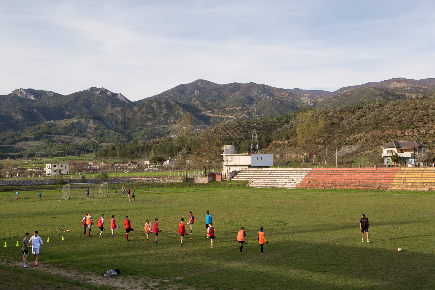 Football Training, Përmet, Albania.